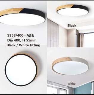 Ceiling Light led RGB 3 colours