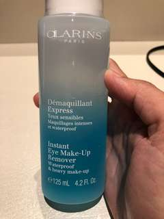 Clarins Instant eye makeup removal 125ml