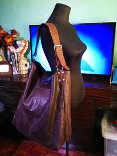 SALAD Leather Hobo