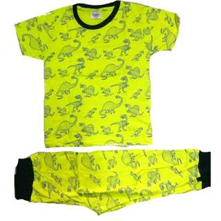 Cotton Pyjamas Set Dinosour
