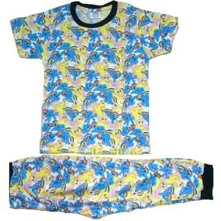 Cotton Pyjamas Set Blue My Little Pony