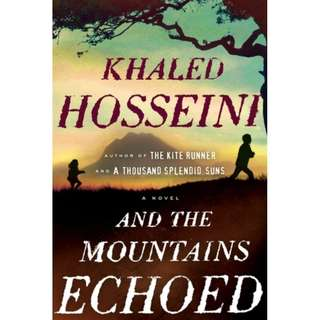 [eBook] And the Mountains Echoed by Khaled Hosseini