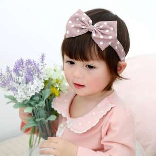 🎀 Sweet & Dainty Bowknot Elastic Headband for Babies ☺️