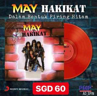 May-Hakikat on 180gm  Red vinyl new release on 1/6/18