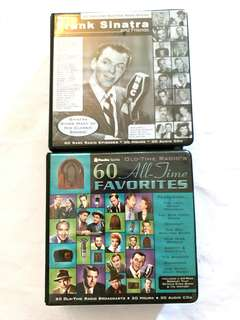 Frank Sinatra And Friends Radio Shows CD