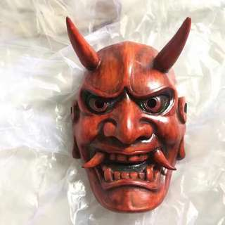 Japanese ghost mask