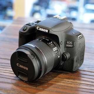 Kredit Canon EOS 800D WIFI 18-55mm
