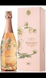 法國粉紅香檳-巴黎之花2006$2000