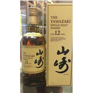 山崎 12年 Yamazaki Single malt whisky