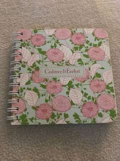 Crabtree & Evelyn notebook