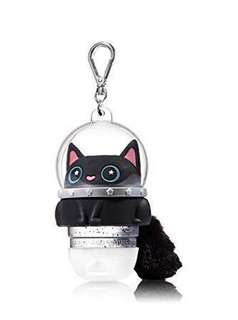 Limited Edition Bath & Body Works Astronaut Space Kitty Cat Pocketbac