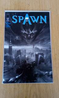 mattina cover spawn issue 283 b&w