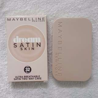 $18   Maybelline Dream Satin Skin Ultra Breathable Satin Two Way Cake