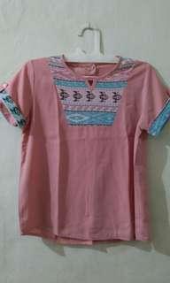Blouse sale stock (3pcs) yg pink sold