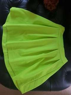 Neon High-Waisted Skirt 😍