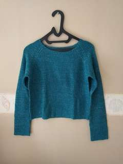 Crop Longsleves Knit Glitter