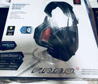 Mad Catz F.r.e.q. 9 Wireless Surround Headset 無線電競耳機