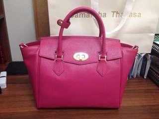 Pink Designer Bag (Samantha Thavasa)