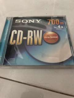 WTS Sony CD-RW