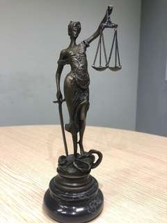 Lady of Justice (Bronze)