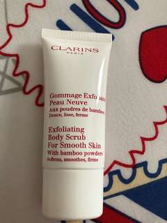 Exfoliating body scrub for smooth skin 30ml