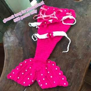 Mermaid Crochet Costume