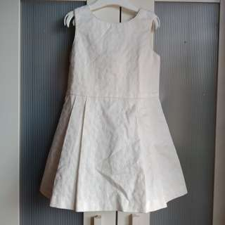 Okaidi 5y white dress