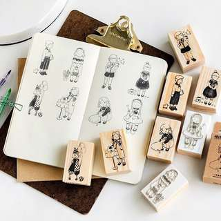 (PO) My Daily Life Wooden Stamps