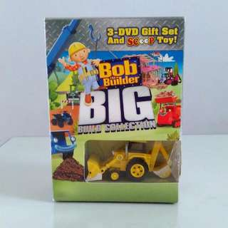 Bob The Builder Box  Set Of 3  DVDs