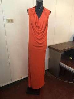 Josie Natori long gown medium