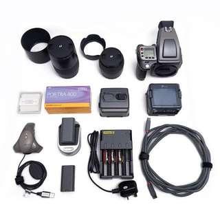 Hasselblad H1 + Leaf Aptus 33MP Digital Medium Format + Lenses/Accessories