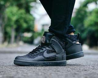 Nike Dunk Lux Pigalle Woman Black