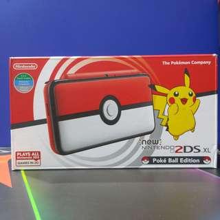 New Nintendo 2DS XL Poke Ball edition