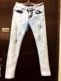 Dickies tattered jeans
