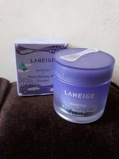 [ORIGINAL] Laneige water sleeping mask ( lavender ) special care 70 ml