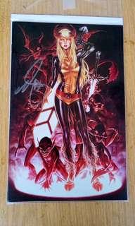 Mark brooks cover new mutants dead souls 1000 print signed