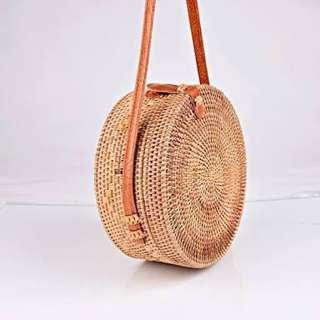 Bali rattan bag