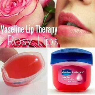 Vaseline rose lip
