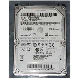 "Laptop HDD 2.5"" seagate 500GB"