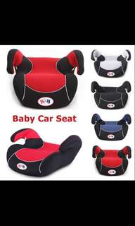 Car Seat Booster ( black , red ,Gray , blue  )