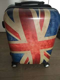 "Cabine Luggage UK Vintage Effect 20"""