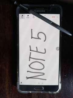 Samsung GalaxyNote 5 SM-N920L Silver