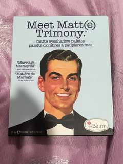 The Balm matte eyeshadow palette