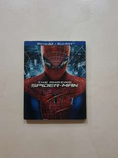 Amazing Spider Man 3D Blu Ray