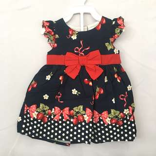 Girl Cute Cherry Dress SB 023