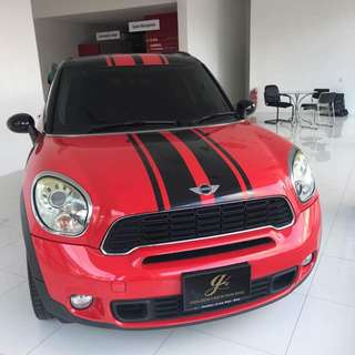 MINI COOPER COUNTRYMAN 1.6S 2011/1015 SEXY RED