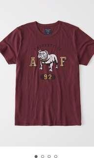 全新 A&F 招牌 T-shirt.