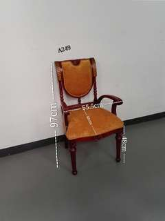 Oriental Inspired Arm Chair (2PC's avail)