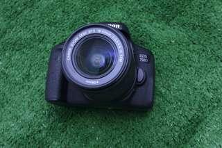 Canon 750d Touchscreen Fullset Murah dan Muluuuus