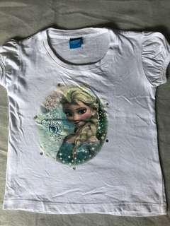 White Elsa shirt